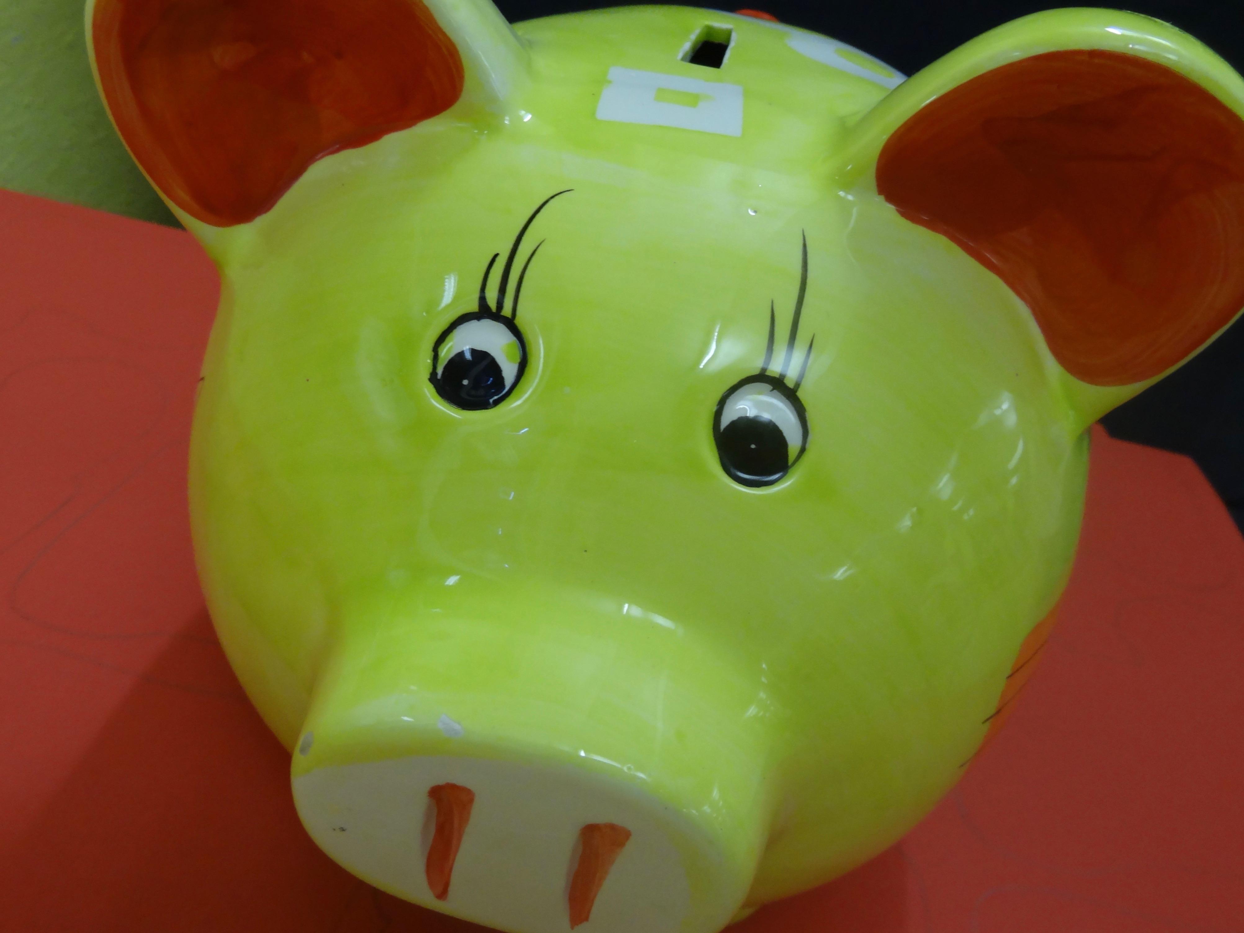 Schweinchen-nah